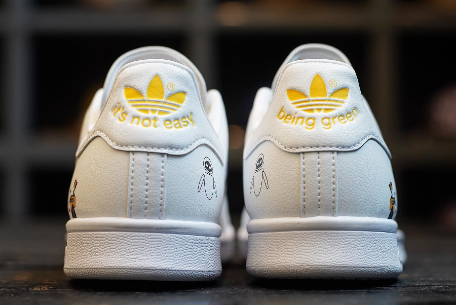Adidas Stan Smith recyclé Walle (4)
