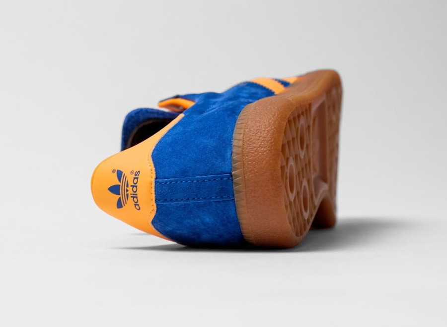 Adidas Vienne en suède bleu et orange (2)