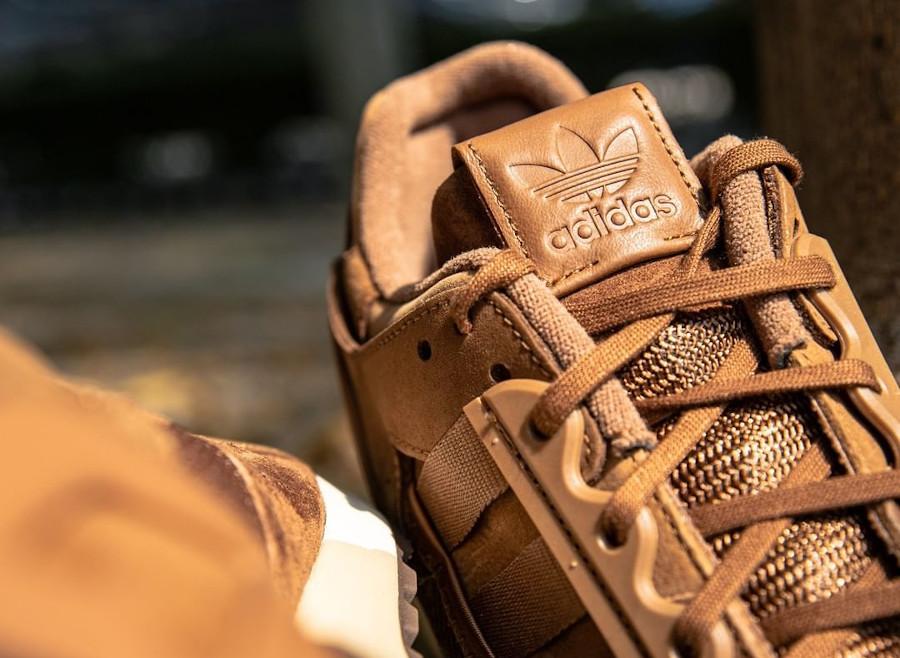 Adidas ZX 10 000 marron chocolat (Pâques 2021) (2)
