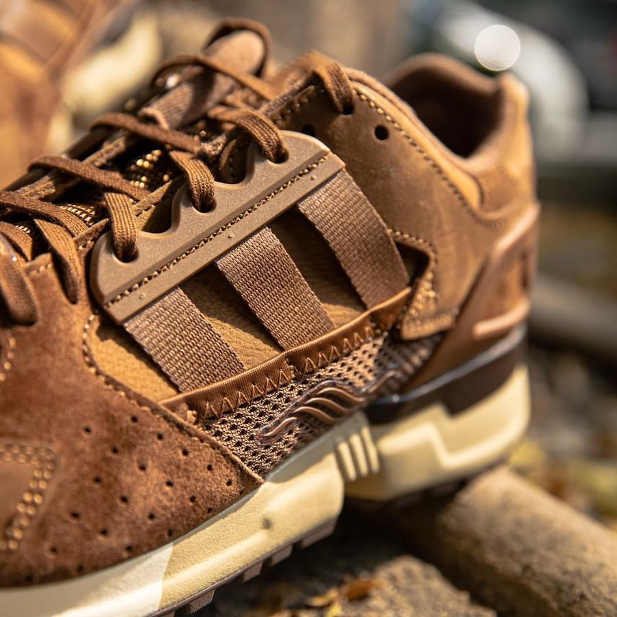 Adidas ZX 10 000 marron chocolat (Pâques 2021) (3)