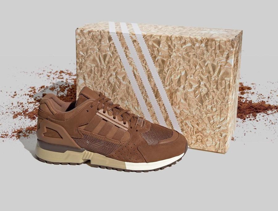 Adidas ZX 10 000 marron chocolat (Pâques 2021) (4)