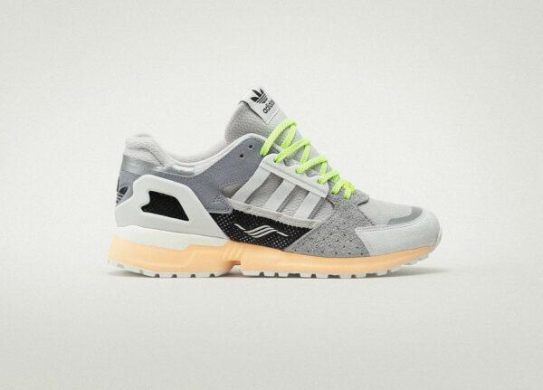 Adidas ZX 10000C Grey Two Acid Orange FX6978