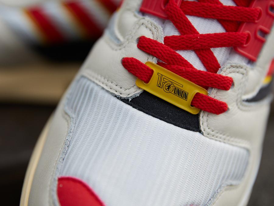 Adidas ZX8000 2021 blanche rouge jaune et noire (5)