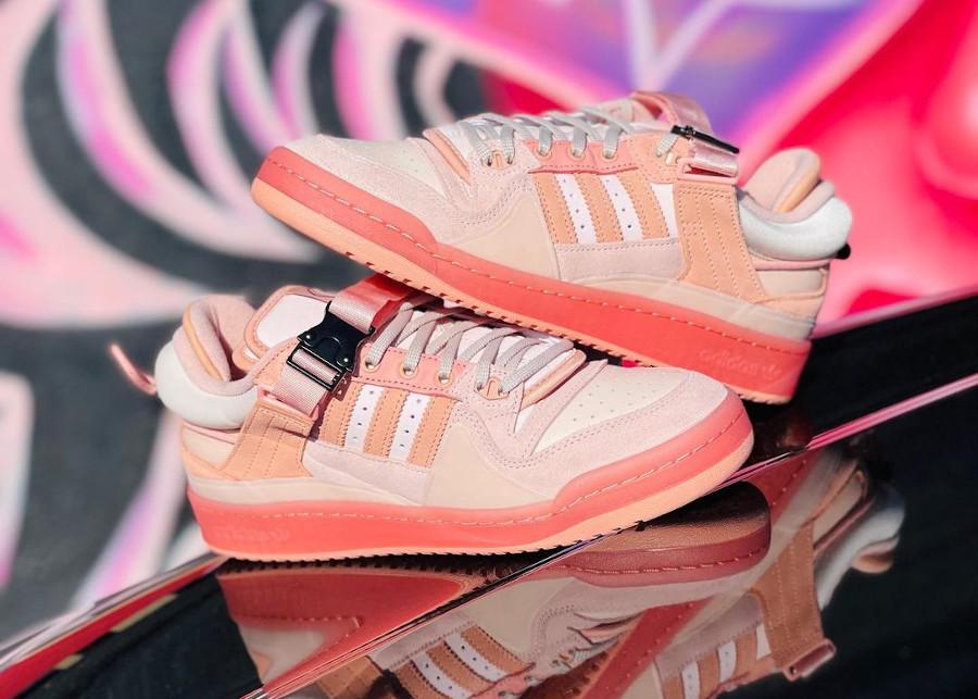 Adidas x BB Forum Low rose pastel (1)