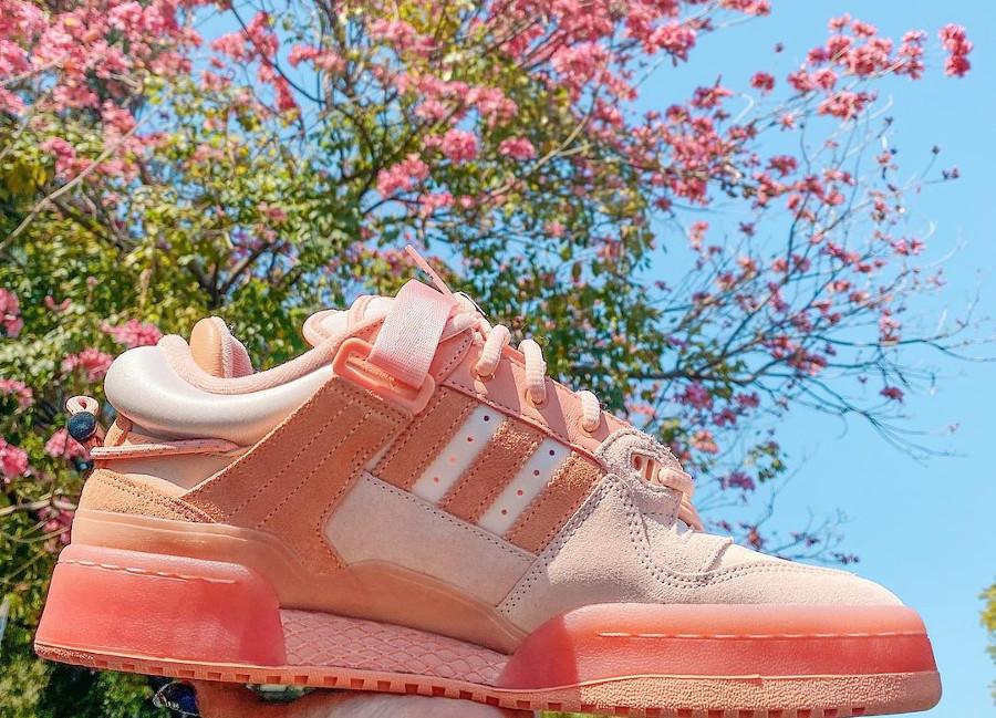 Adidas x BB Forum Low rose pastel (2)