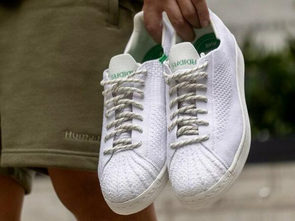 Adidas x Pharrell Superstar PK HU White Green GX0194