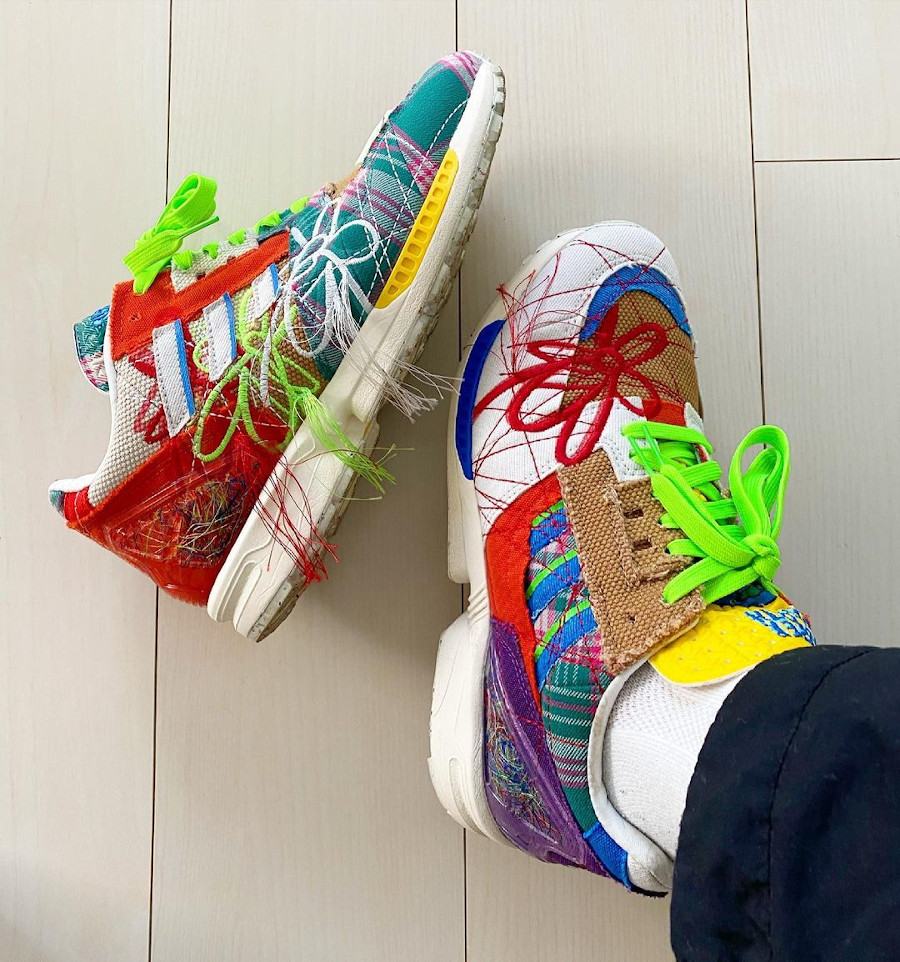Adidas x Sean Wotherspoon ZX8000 SW AZX SuperEarth GZ3088