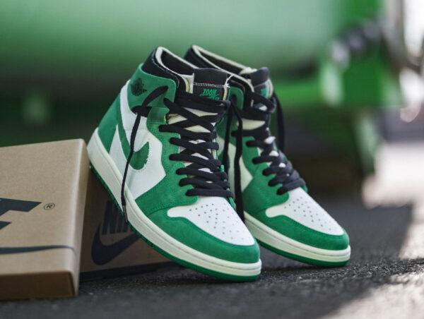Air Jordan 1 High Zoom Air CMFT Stadium Green CT0978-300