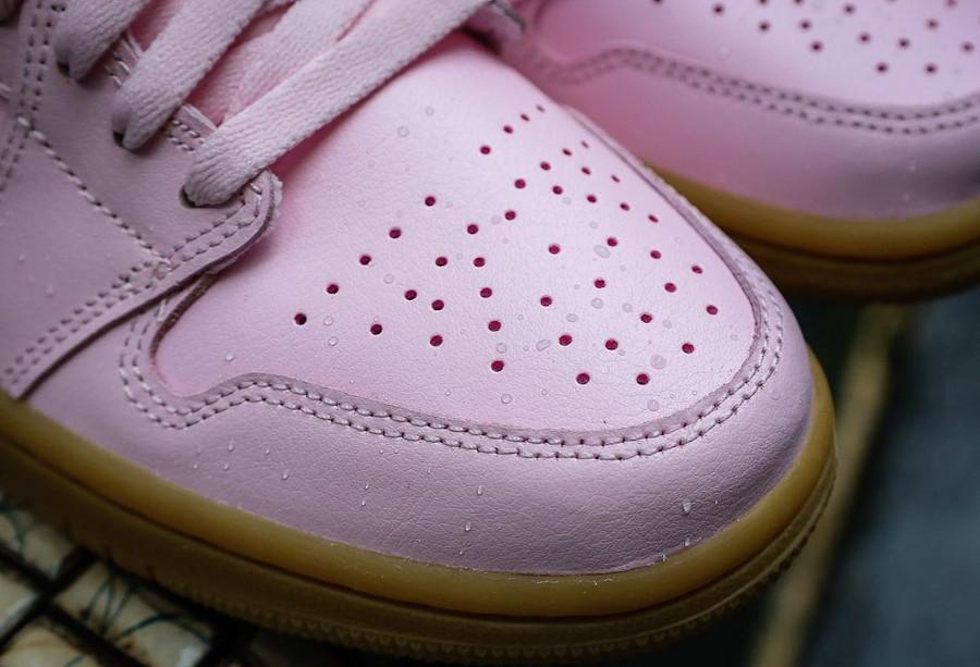 Air Jordan 1 Low rose et gomme (2)