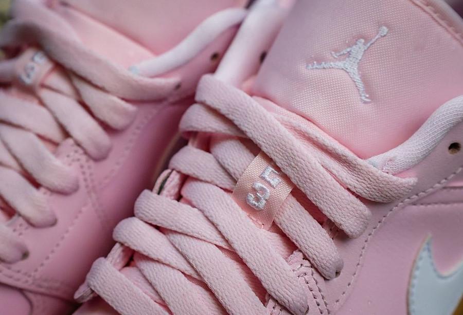 Air Jordan 1 Low rose et gomme (3)