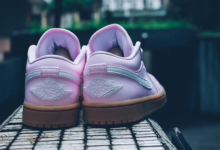 Air Jordan 1 Low rose et gomme (4)
