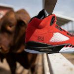Air Jordan V Retro 'Raging Bulls' Toro Bravo 2021