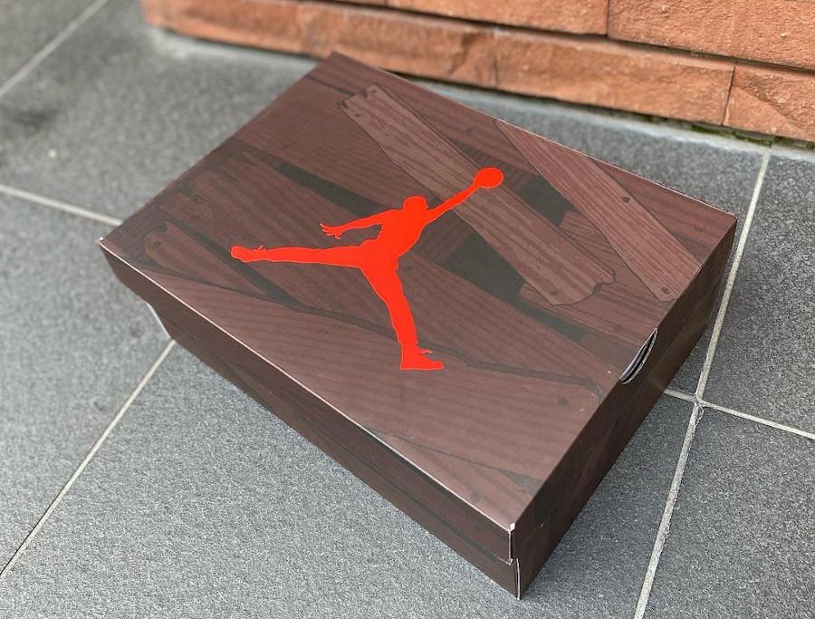 Air Jordan V Retro DMP en suède rouge (1)