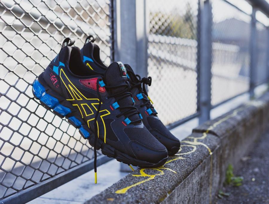 Asics Gel Quantum 180-6 Black Yellow Blue 1201A415-001