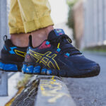 Asics Gel Quantum 180™ 6 Black Yellow Blue