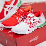 Coca Cola x Asics Gel Quantum 90 TYO 'Red & White'