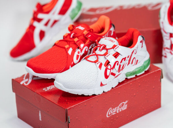Asics x Coca Cola Gel Quantum 90 TYO Coke Red White