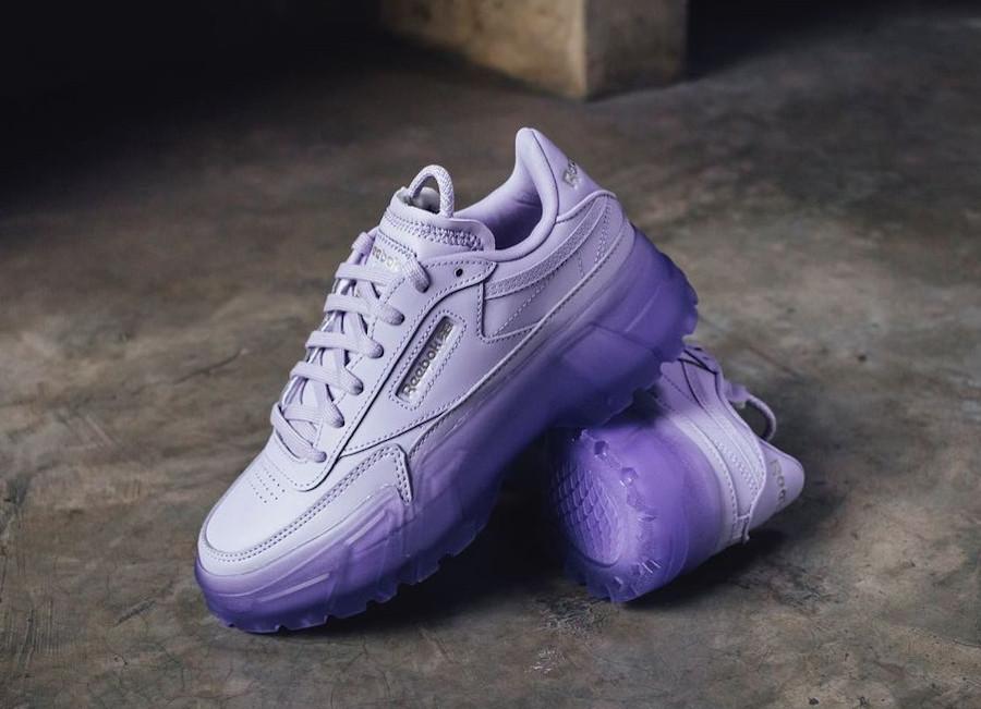 Bacardi x Reebok Club C violet (1)