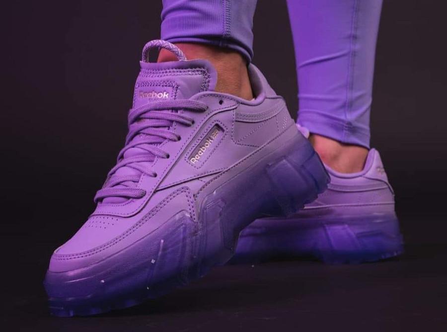 Bacardi x Reebok Club C violet (3)