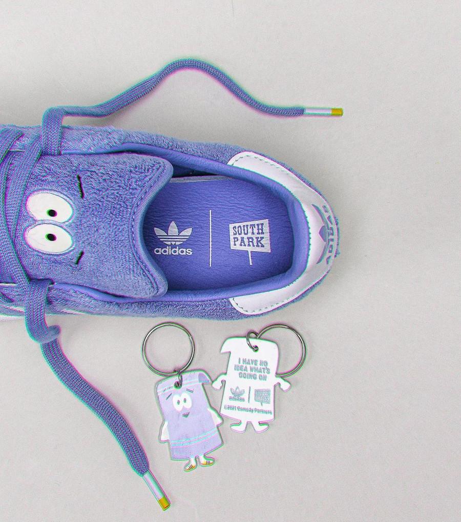 Comedy Partners x Adidas Campus Servietsky (serviette violette) (4)