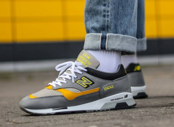 NB 1500 M1500GGY Grey Yellow 2021 Bring Back Pack