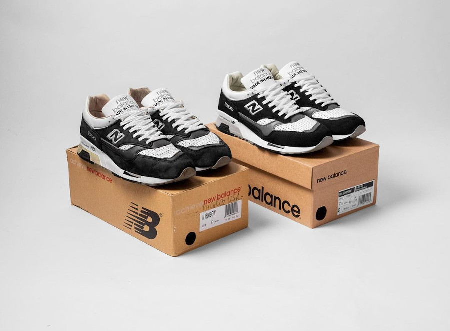 New Balance 1500 Black White made in England (1)