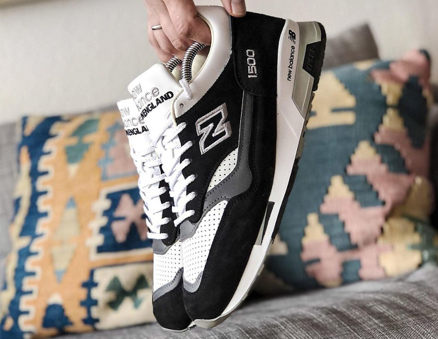 New Balance 1500 Black White made in England (7)