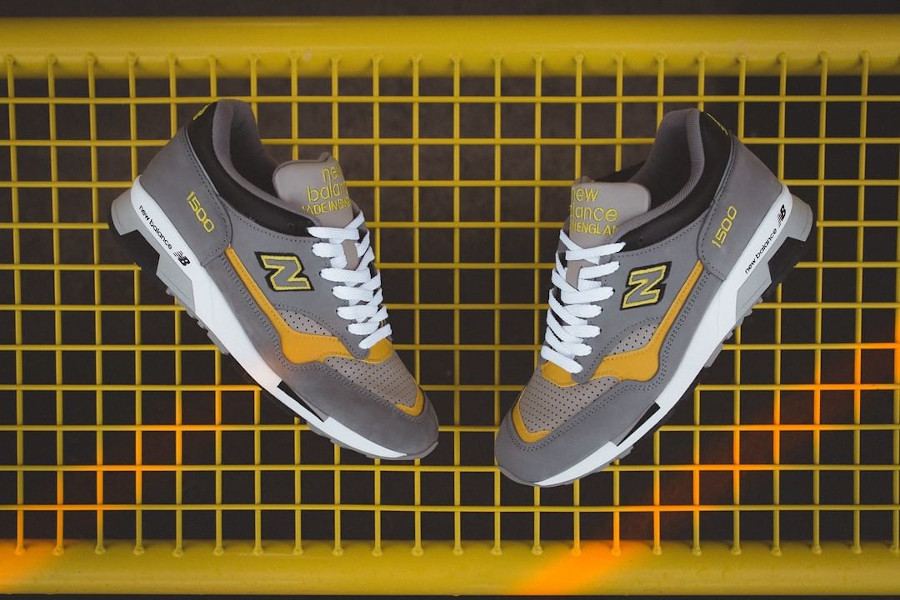 New Balance 1500 Grey Yellow 2021 Made in England (1)
