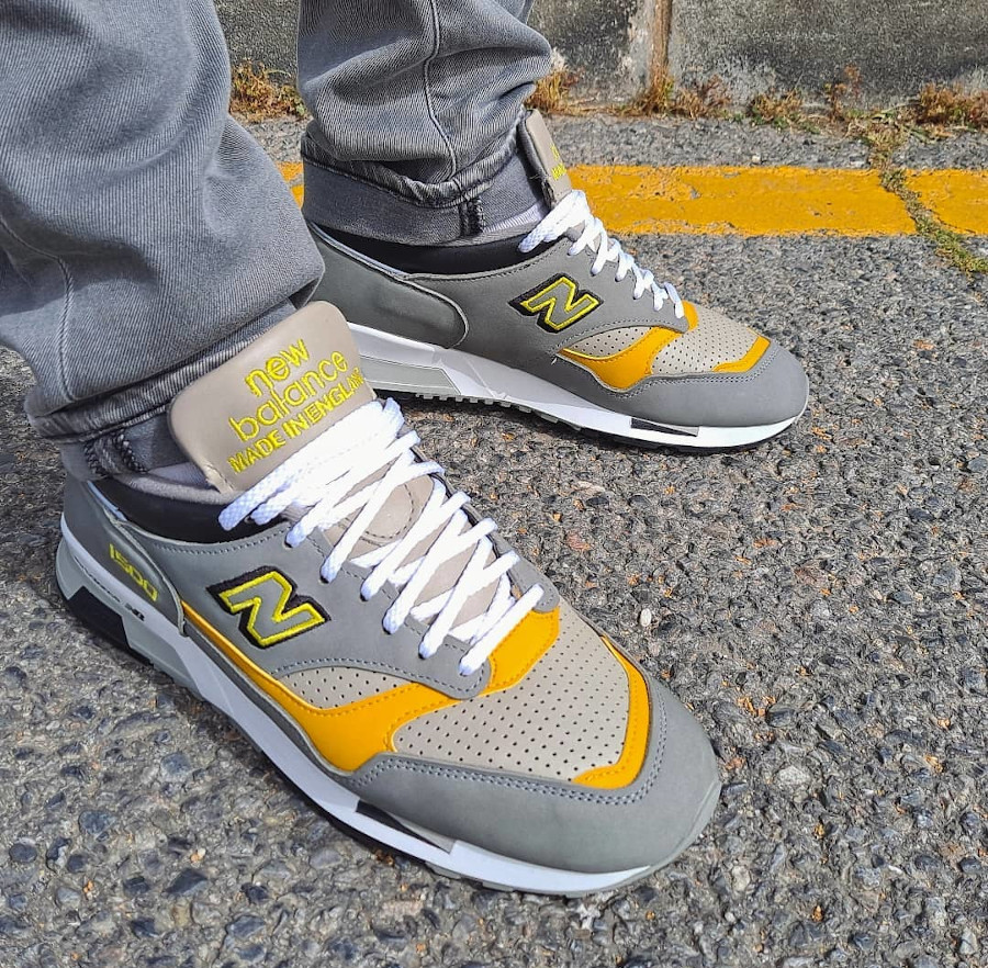 New Balance 1500 Grey Yellow 2021 Made in England (2)