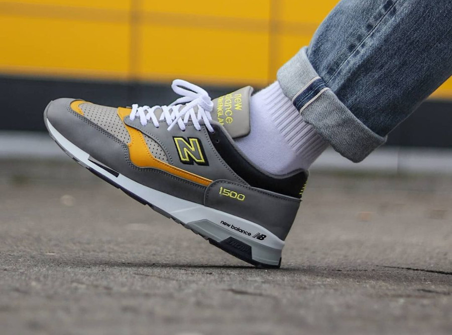New Balance 1500 Grey Yellow 2021 Made in England (4)