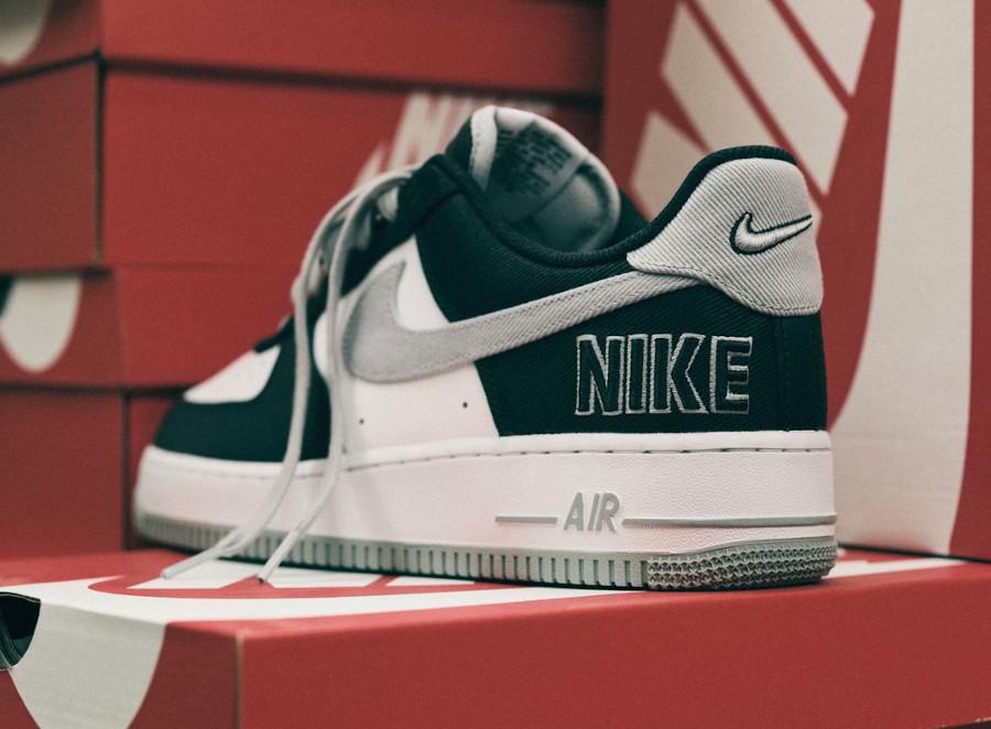Nike AF1 '07 LV8 EMB Raiders Black Fat Silver CT2301-001