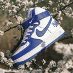 Nike Air Force 1 High '07 LV8 Embossed 'Dodgers' Rush Blue