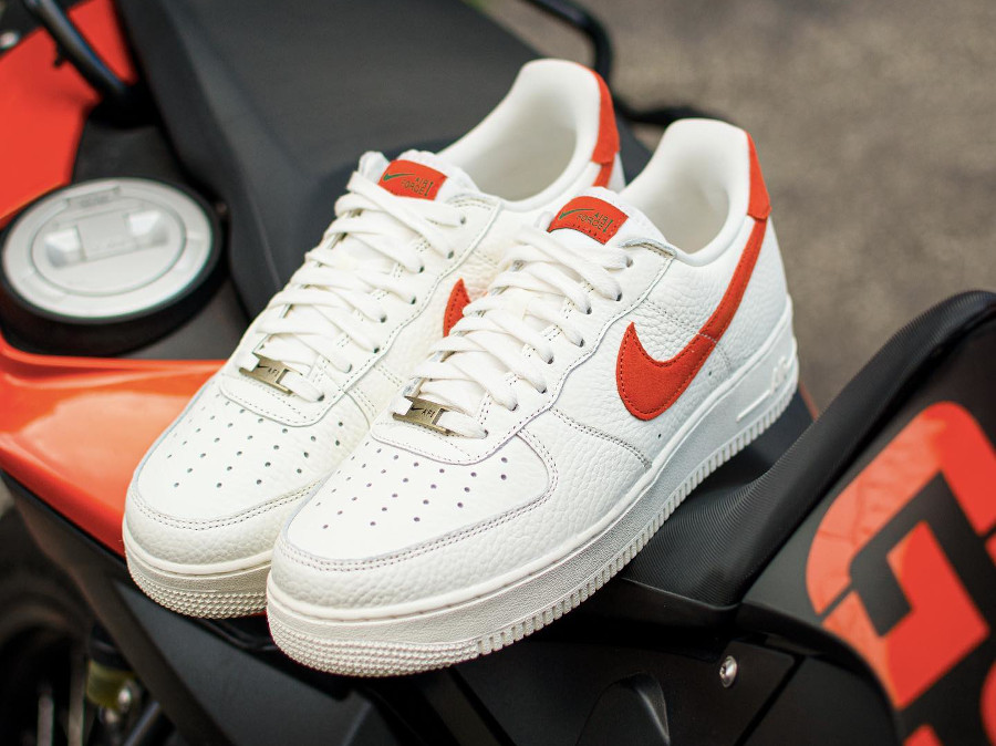 Nike Air Force 1 AF1 '07 Craft Mantra Orange CV1755 100