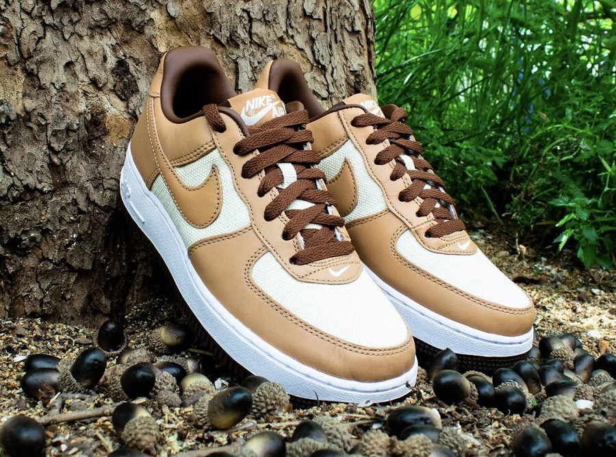 Nike Air Force 1 AF1 Low QS Acorn 2021 DJ6395 100