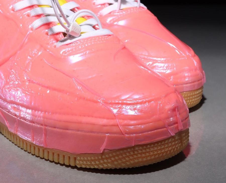 Nike Air Force One EXPT en plastique rose (4)
