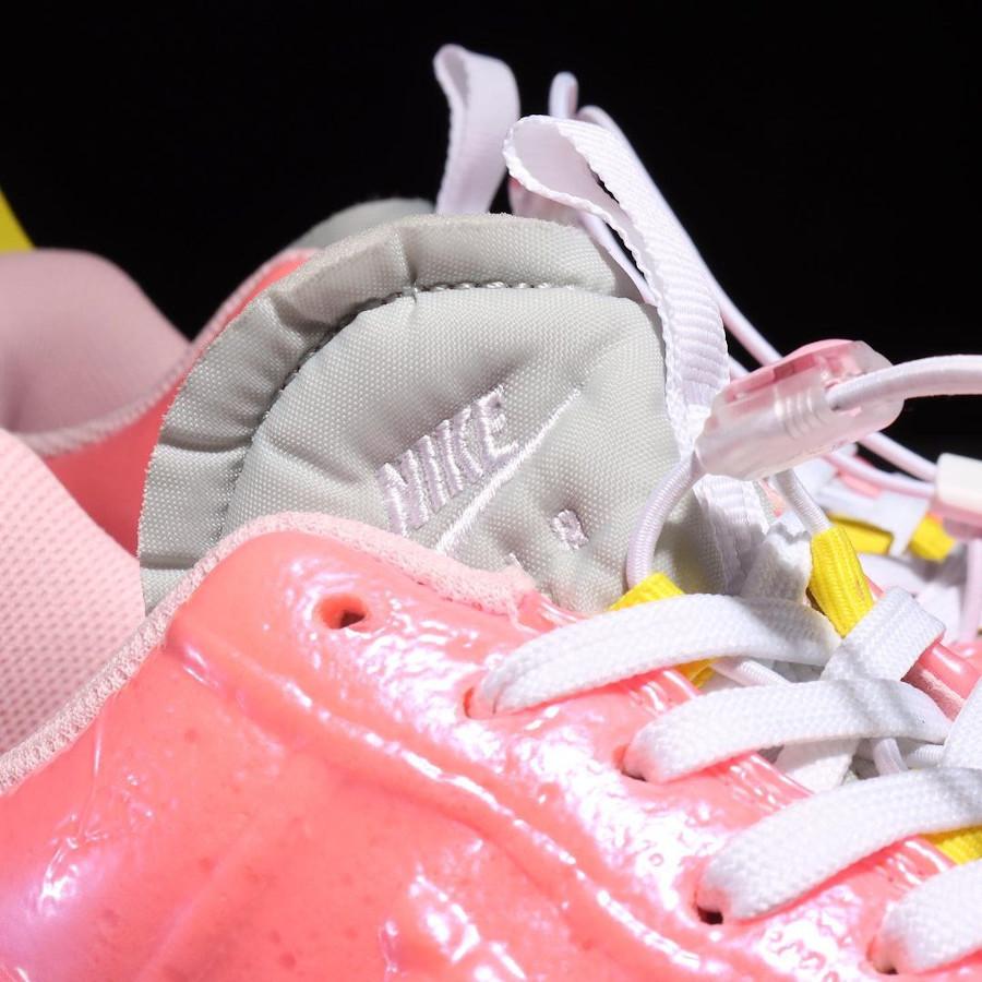 Nike Air Force One EXPT en plastique rose (5)