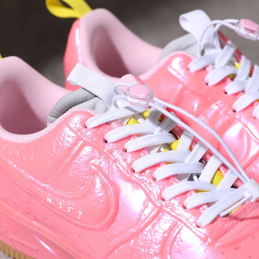 Nike Air Force One EXPT en plastique rose (7)