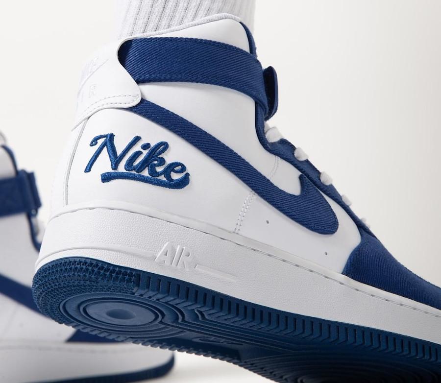 Nike Air Force One Hi LMB Los Angeles on feet (1)