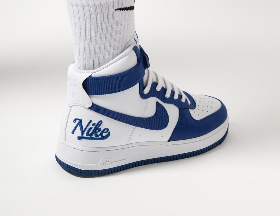 Nike Air Force One Hi LMB Los Angeles on feet (2)
