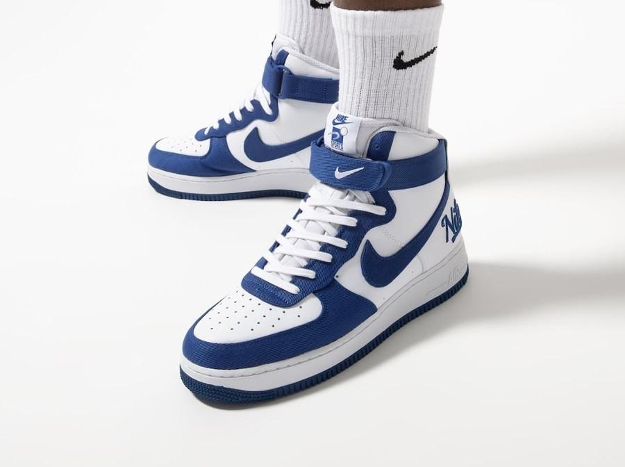 Nike Air Force One Hi LMB Los Angeles on feet (3)