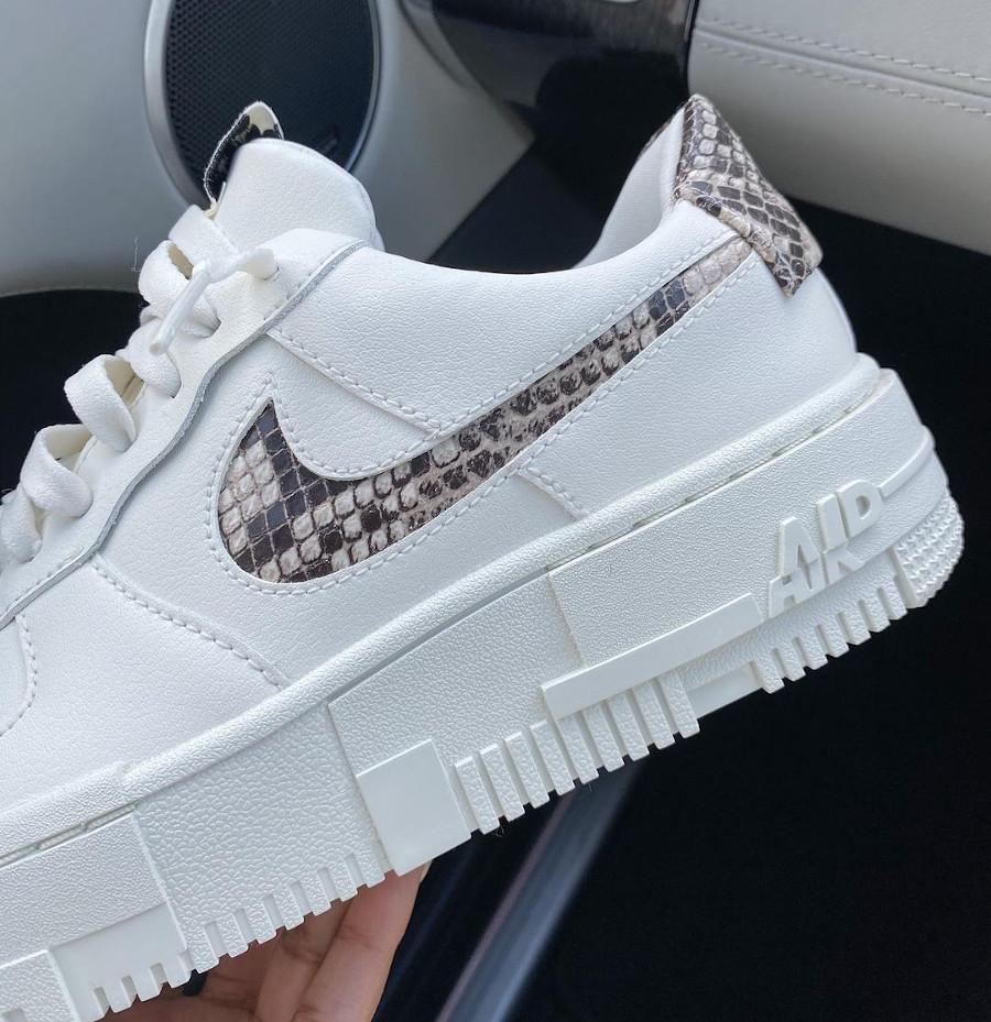 Nike Air Force One Pixel peau de serpent (3)