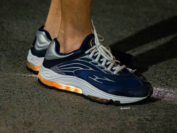 Nike Air Tuned Max bleu marine vintage de 1999 (2)