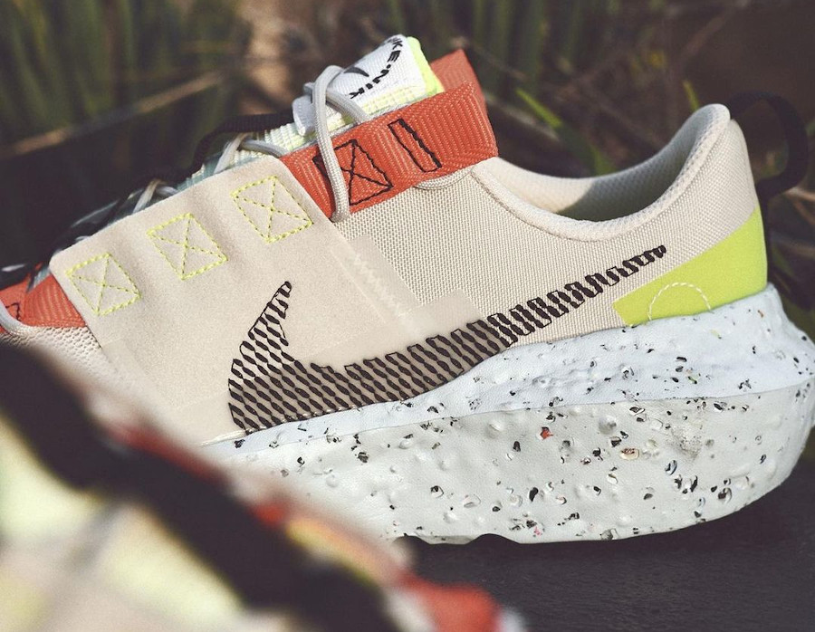 Nike Crater Impact recyclée beige (2)