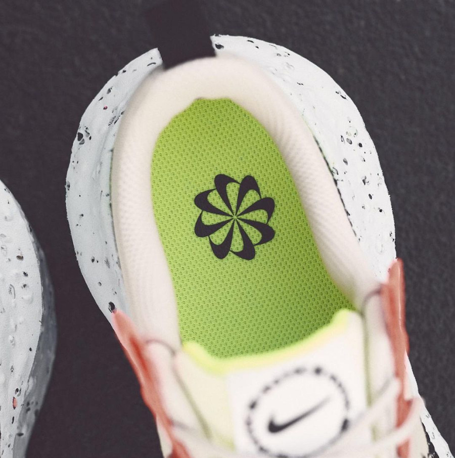 Nike Crater Impact recyclée beige (3)