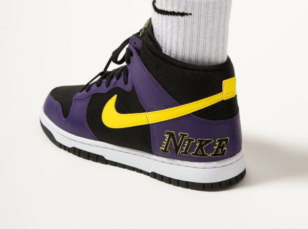 Nike Dunk High PRM EMB Lakers Court Purple DH0642-001