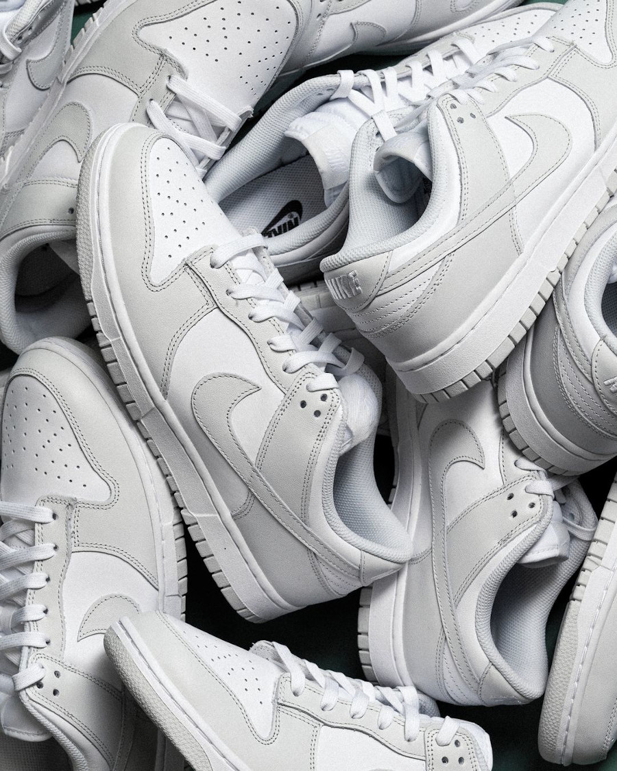 Nike Dunk Lo W gris clair pastel (1)