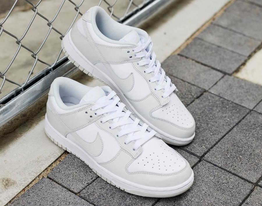 Nike Dunk Lo W gris clair pastel (4)