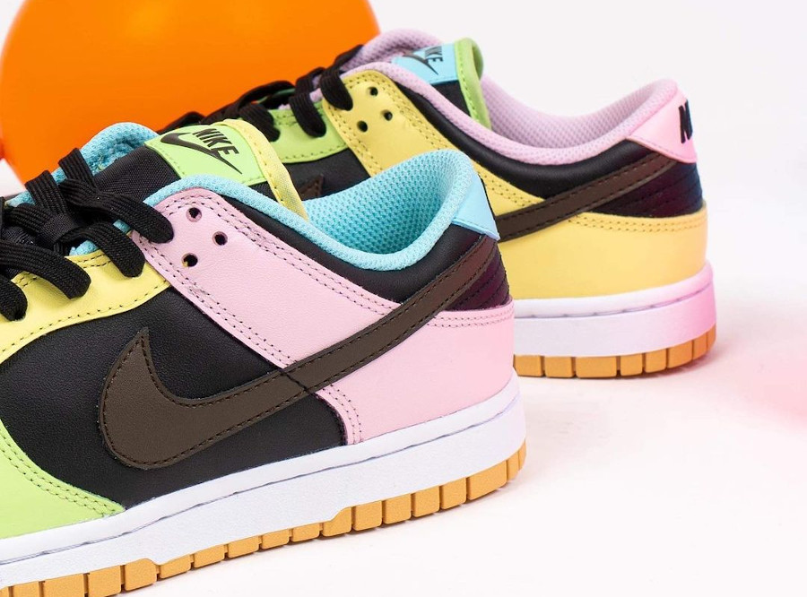 Nike Dunk Low Free99 multicolore (1)
