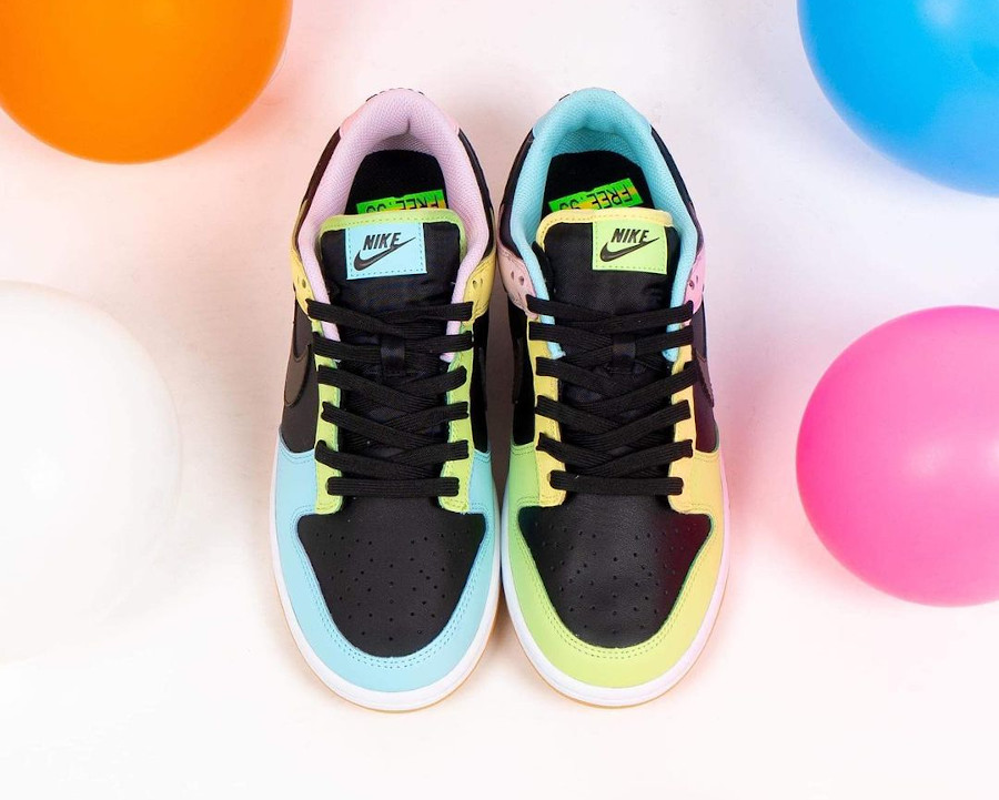 Nike Dunk Low Free99 multicolore (3)