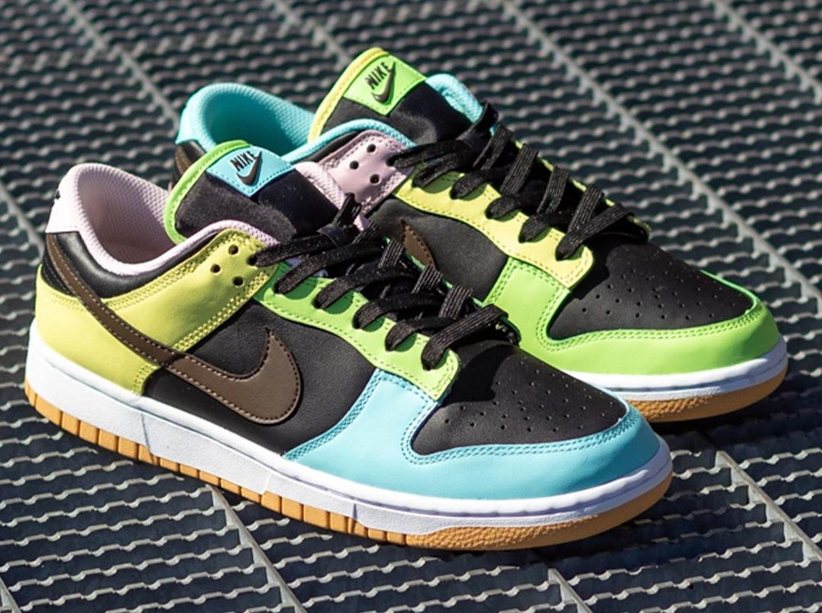Nike Dunk Low Free99 multicolore (6)